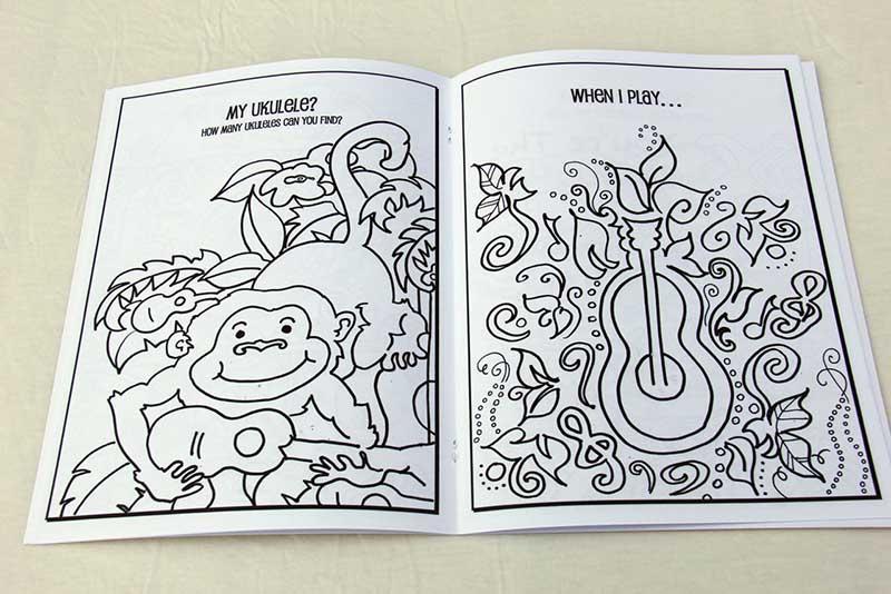 Happy Beach Coloring Book - The Springmans