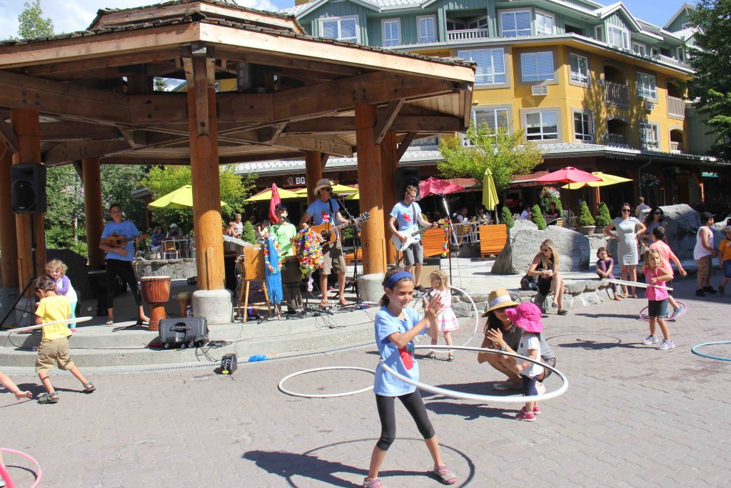 The Springmans blog - kids concert in Whistler