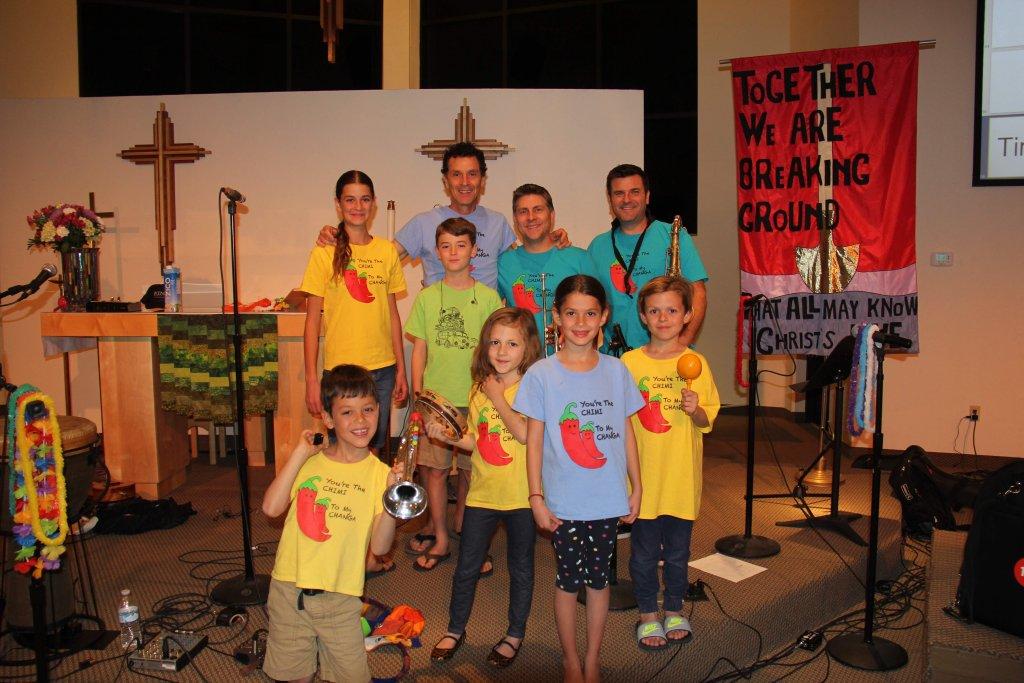 The Springmans family music concert for kids
