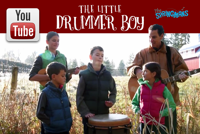 The Springmans - The Little Drummer Boy - Youtube