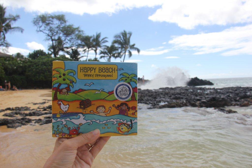 Buy Happy Beach, kids music by Perry Springman, The Springmans at myhappybeach.com