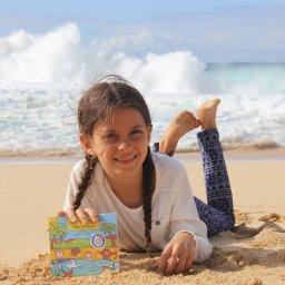 Sarah Springman - Happy Beach - The Springmans kids music CD