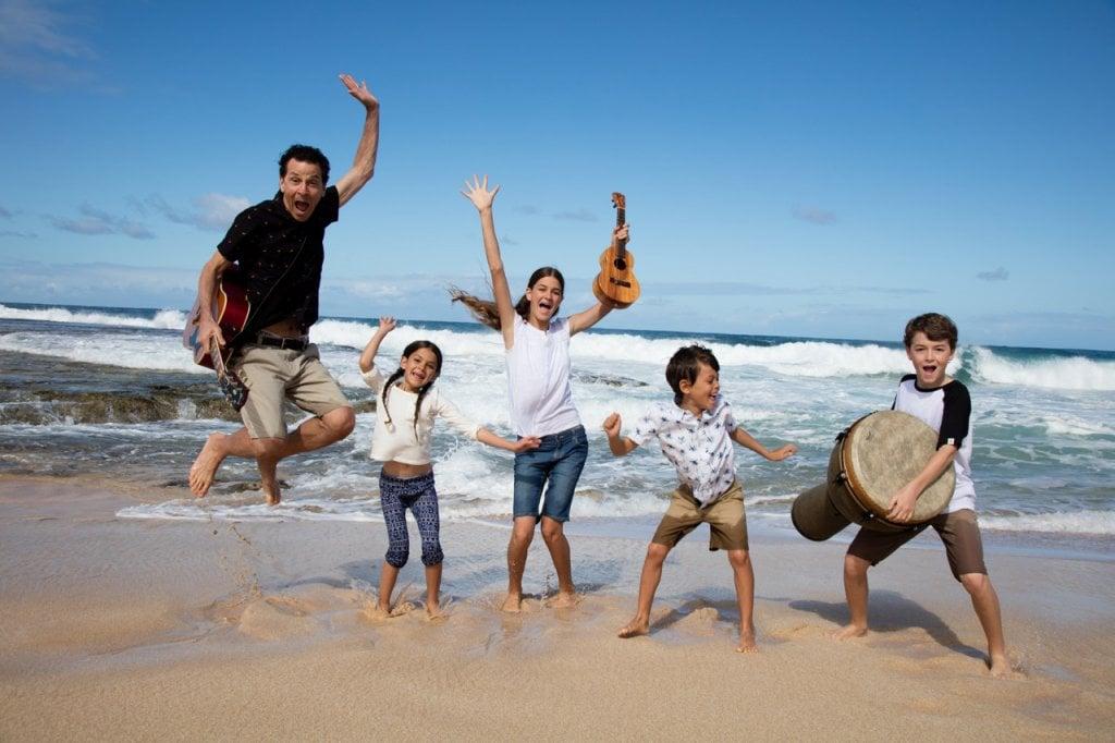 The Springmans Happy Beach kids music